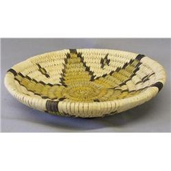 Hopi Star Design Basket