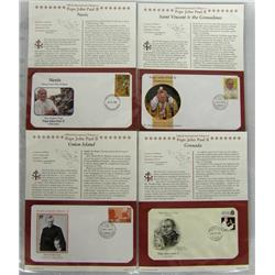 First Day Issue Stamps Tribute to John Paul II