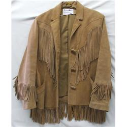 Pioneer Wear Suede Leather Fringed Jacket