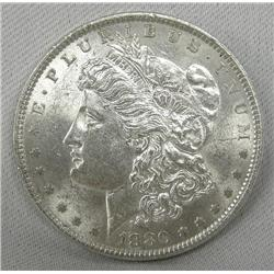 1880 Morgan Uncirculated Condition Silver Dollar