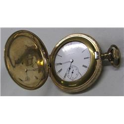 Engraved Case Pocketwatch Elgin Illinois