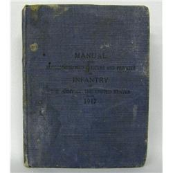 1917 Manual for US Army Infantry Non-Com Officers