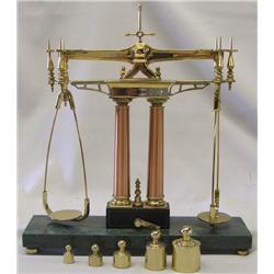 150th Anniversary Gold Rush Balance Scale