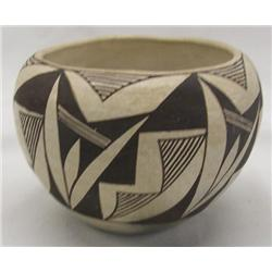 Vintage Acoma Bowl Marked Acoma, NM