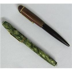 2 Vintage Fountain Pens, Eversharp & one Wearever