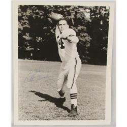 Signed Otto Graham Photo Cleveland Browns Football
