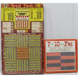 2 Punch Board Gambling Games