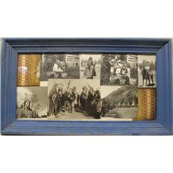 Framed Collection of Indian Photographs