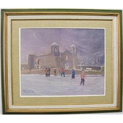 1970 Framed Print By J.H. Richards