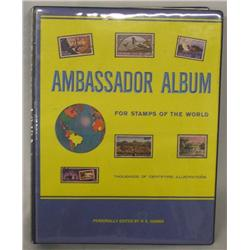 Ambassador Stamp Album edited by H.E. Harris