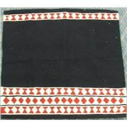 Zapotec Handwoven Wool Saddle blanket