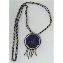 North Plains Beaded Pendant
