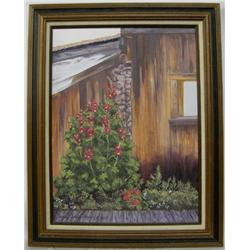 Framed Original Oil Painting by Cecelia Pearce
