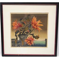 Exotic Floral Signed Print