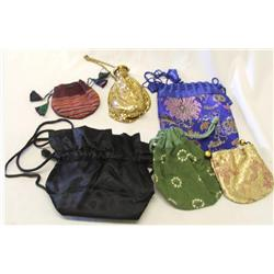 6 Ladies Evening Bags & Jewelry Pouches