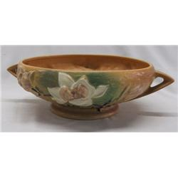 Roseville Pottery Magnolia Console Bowl