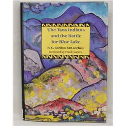 Hardback Book, ''The Taos Indians - Battle for Blue Lake''