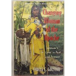 Hardback Book Changing Woman of the Apache by S. Golston