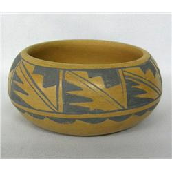 Tesuque Pottery Bowl by Vicenta