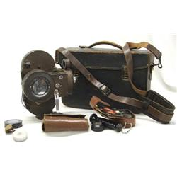 Victor 16mm Movie Camera in Case
