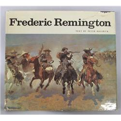 Hardback Book Frederic Remington