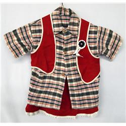 Vintage Child's Cowgirl Outfit