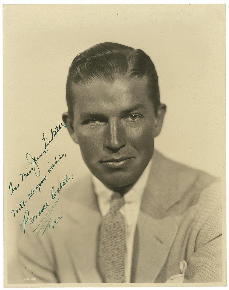 Movie actor bruce cabot