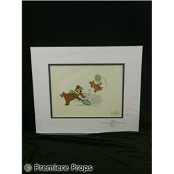 Yogi Bear & Boo Boo Animated Cel