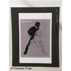 Resident Evil Afterlife Umbrella Soldier Production Drawing Movie Props