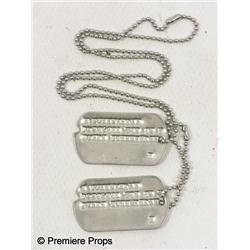 Inglourious Basterds Pfc. Michael Zimmerman (Michael Bacall) Dog tags Movie Props
