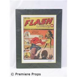 Shelly Moldoff Autographed Flash Comics Portfolio