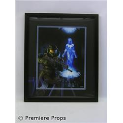 Halo Prisoner Framed Print