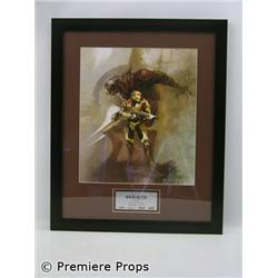 Halo Chief & Arbiter Framed Print