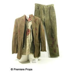 Inglourious Basterds Bob Dreyfus (Salvadore Brandt) Bloody Movie Costumes