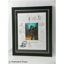 Halo Art of Halo Giclee on Paper Framed