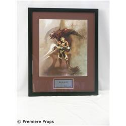 Halo Chief & Arbiter Giclee on Paper Framed