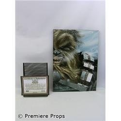 Star Wars Chewbacca Hoth Encounter Print on Canvas