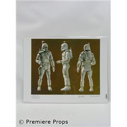Star Wars Bounty Hunter Print