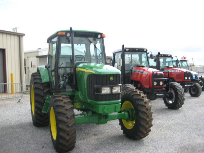 john deere 6415 4x4 farm tractor j m wood auction company inc. Black Bedroom Furniture Sets. Home Design Ideas