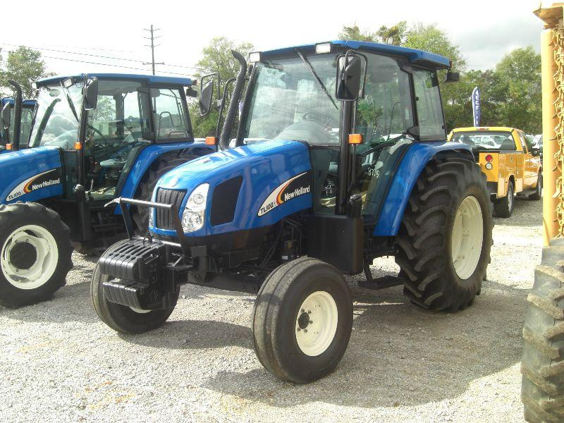 Farm Tractor 2 Wheel : New holland tl a wheel drive farm tractor