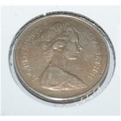 1968 10 New Pence Coin