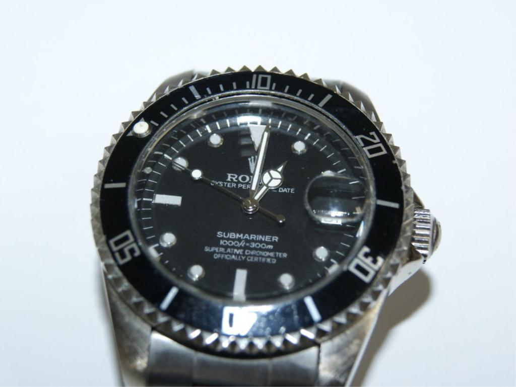 faux rolex automatic submariner wrist watch. Black Bedroom Furniture Sets. Home Design Ideas