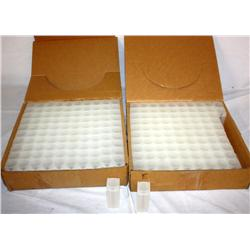 2 Boxes Of Square Quarter Coin Tubes