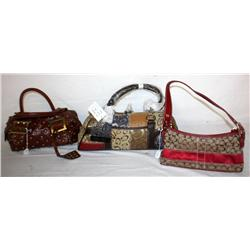 Lot Of 3 Purses