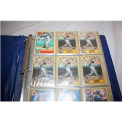 4 Folders Of Collectible Baseball Cards