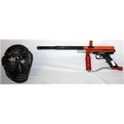 Paintball Gun With Mask
