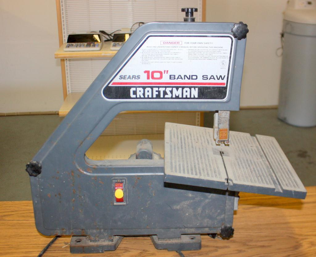 Sears Craftsman 10 Quot Band Saw