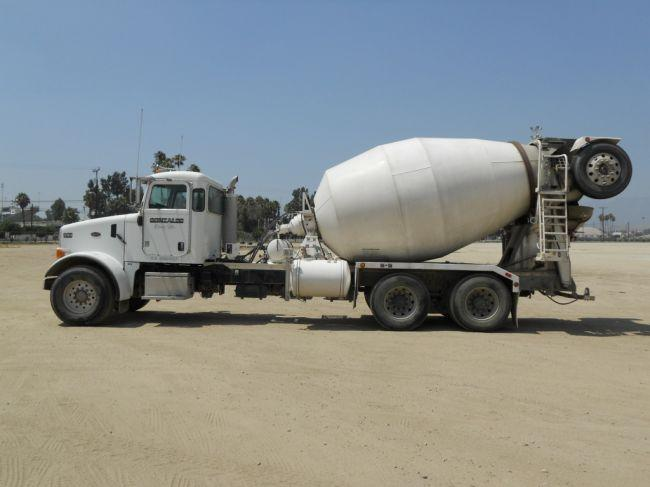 how to make a cement mixer truck