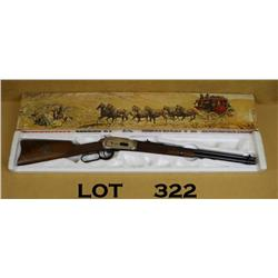 Winchester model 94 Wells Fargo & Co commemorative  1977, .30-30 caliber, saddle ring carbine  featu