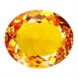 79.65ct Orange Yellow Citrine Appr. Est. $15930 (GEM-25137)